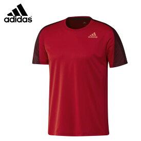 adidas DX0068 グラフィックシャツ スカーレット バドミントンウェア アディダス【クリックポスト可/取り寄せ】