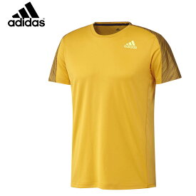 adidas DX0069 グラフィックシャツ ゴールド バドミントンウェア アディダス【クリックポスト可/取り寄せ】
