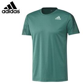 adidas DX0073 グラフィックシャツ アクティブグリーン バドミントンウェア アディダス【クリックポスト可/取り寄せ】
