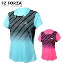 FZFORZA302750ゲームシャツ(レディース)バドミントンウェアフォーザ【日本バドミントン協会審査合格品】