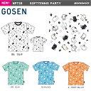【予約販売】GOSEN NPT29 ぽちゃ猫 SOFTTENNIS PARTY 半袖Tシャツ(ユニ/メンズ) pochaneco 2020年春企画 ソフトテニス…