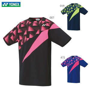 YONEX 10358 ユニゲームシャツ ウェア(ユニ/メンズ) バドミントン・テニス 2020年春夏モデル ヨネックス【日本バドミントン協会審査合格品/メール便可/取り寄せ】