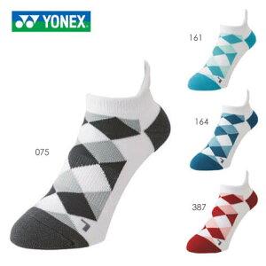 YONEX 19166 メンズスニーカーインソックス テニス・バドミントンソックス(メンズ) 2021SS ヨネックス【メール便可/取り寄せ】