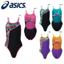 asics 2162A285 W'Sレギュラー レディース SA 競泳水着 アシックス 2021SS【取り寄せ】