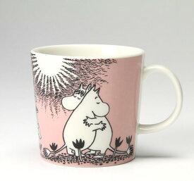 【ARABIA】 ムーミン マグ 0.3L ピンク Love /コップ ティー用品 コーヒー用品 アラビア