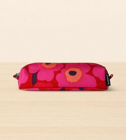 【marimekko】 Mini Unikko(ミニ ウニッコ) ポーチ Kiia レッド×レッド /雑貨 財布 コインケース 化粧ポーチ マリメッコ