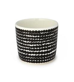 【marimekko】 Siirtolapuutarha(シイルトラプータルハ) コーヒーカップ(ハンドルなし) ブラック /コップ ティー用品 コーヒー用品 マリメッコ