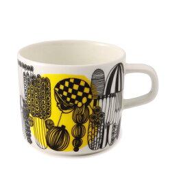 【marimekko】 Siirtolapuutarha(シイルトラプータルハ) コーヒーカップ イエロー /コップ ティー用品 コーヒー用品 マリメッコ