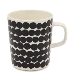 【marimekko】 Siirtolapuutarha(シイルトラプータルハ) マグカップ ブラック /コップ ティー用品 コーヒー用品 マリメッコ