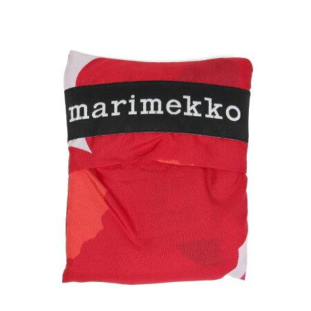 【marimekko】PieniUnikko(ピエニウニッコ)スマートバックレッド/エコバックコンパクトカバン鞄マリメッコ