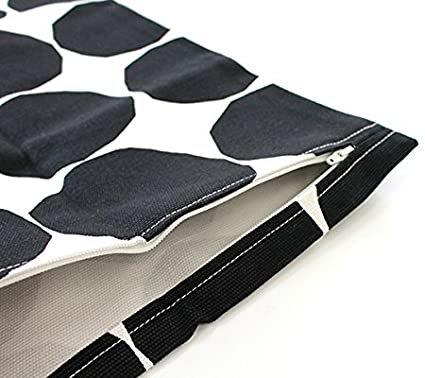 【marimekko】PIENETKIVET(ピエネットキヴェット)クッションカバー50X50cmブラック/ファブリックインテリア雑貨マリメッコ