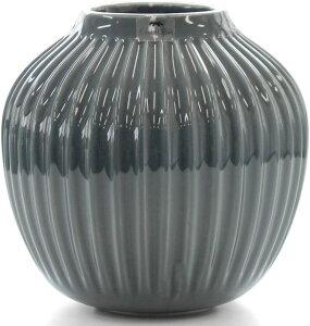 ケーラー(Kahler) ハンマースホイ ベース 125mm ダークグレー(アンスラサイト) / 15376 花 花瓶 ベース インテリア プレゼント ギフト