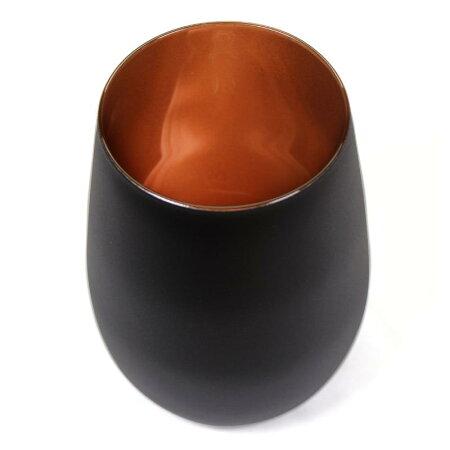 【メタルカラータンブラー460ml】グラステーブルウェア食器ガラスギフトプレゼントカラフルドイツ海外