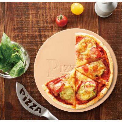 【ピッツェリアプレート1個入り】石窯焼きのような美味しさをご家庭で!市販のチルドピザもパリッと焼き上がります。冷凍ピザ 水分 吸収 オーブン トースター
