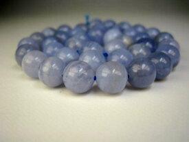 【連売り商品】ブルーレースアゲート品質AΦ10±0.2mm