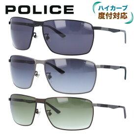ポリス POLICE サングラス SPL345I 全3カラー 64サイズ COURT2 メンズ UVカット [ハイカーブレンズ対応/タウン] 【国内正規品】