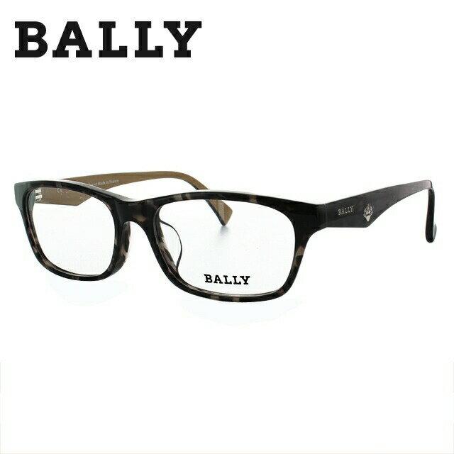 バリー BALLY 伊達メガネ 眼鏡 メンズ レディース べっこう ウェリントン BY3000J 00 54サイズ