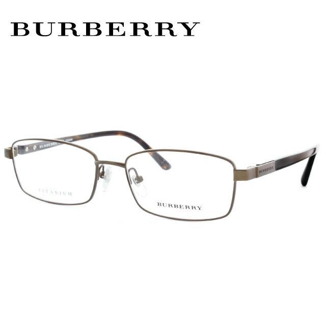 バーバリー 伊達メガネ 眼鏡 BURBERRY 国内正規品 BE1287TD 1212 55 ブラッシュドブラウン/ハバナ 調整可能ノーズパッド レディース メンズ