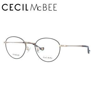 セシルマクビー メガネフレーム CECIL McBEE 度付き 度なし 伊達 だて 眼鏡 CMF 3022-4 49サイズ ボストン型 レディース 女性用 アイウェア UVカット 紫外線対策 UV対策 おしゃれ ギフト
