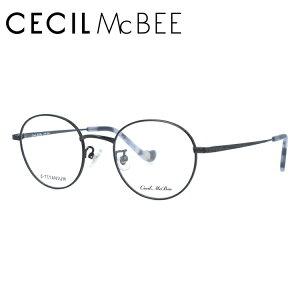 セシルマクビー メガネフレーム CECIL McBEE 度付き 度なし 伊達 だて 眼鏡 CMF 3031-1 47サイズ ラウンド レディース 女性用 アイウェア UVカット 紫外線対策 UV対策 おしゃれ ギフト