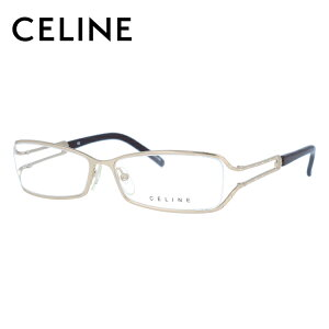 セリーヌ CELINE メガネ フレーム 眼鏡 度付き 度なし 伊達 VC1309S 0300 54サイズ スクエア型 レディース ブラゾン アイコン ロゴ ラインストーン