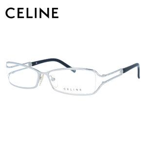 セリーヌ CELINE メガネ フレーム 眼鏡 度付き 度なし 伊達 VC1309S 0579 54サイズ スクエア型 レディース ブラゾン アイコン ロゴ ラインストーン