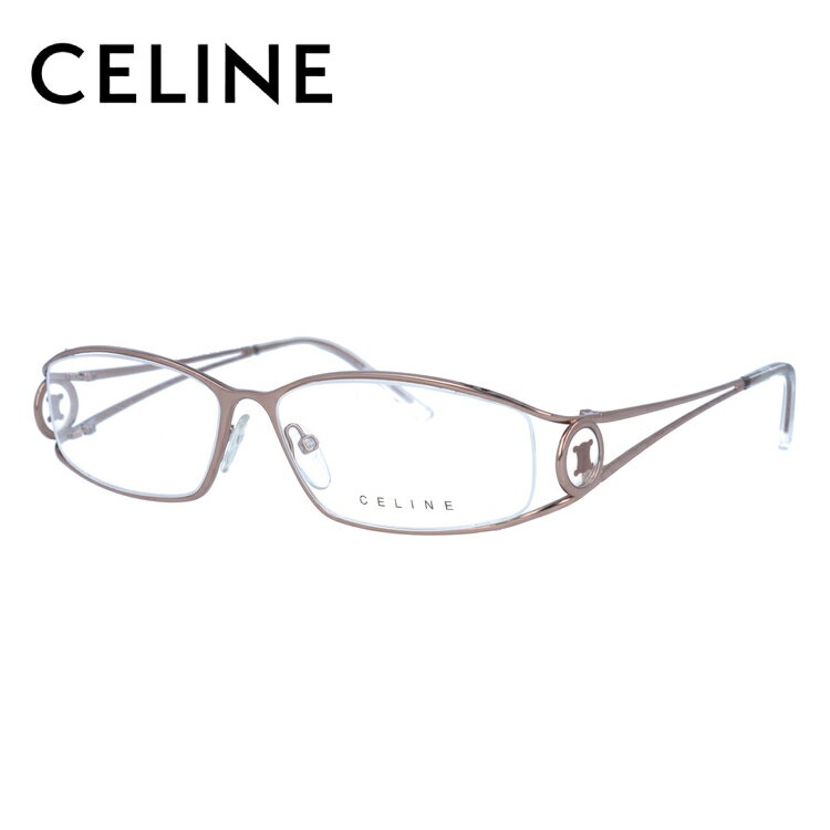 CELINE セリーヌ 伊達メガネ 眼鏡 レディース VC1359M 56サイズ 08F4