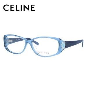 セリーヌ CELINE メガネ フレーム 眼鏡 度付き 度なし 伊達 アジアンフィット VC1603S 097D 55サイズ オーバル型 レディース ブラゾン アイコン ロゴ ラインストーン