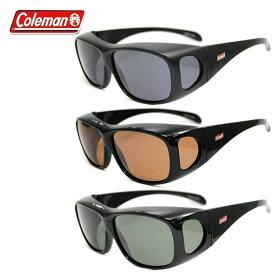 コールマン サングラス 偏光レンズ アジアンフィット COLEMAN CM4019 全3カラー 60サイズ メガネ対応 オーバーグラス ユニセックス メンズ レディース UVカット