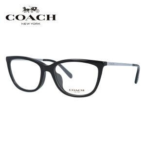 メガネ 度付き 度なし 伊達メガネ 眼鏡 コーチ アジアンフィット COACH HC6124F 5002 53サイズ フォックス型 レディース UVカット 紫外線 【国内正規品】