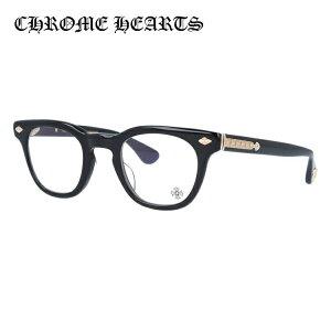 クロムハーツ メガネ 度付き 度なし 伊達メガネ 眼鏡 メガネフレーム CHROME HEARTS レギュラーフィット PANTY HO BK-GP 47サイズ ウェリントン型 日本製 フローラル スパイダー ユニセックス メンズ