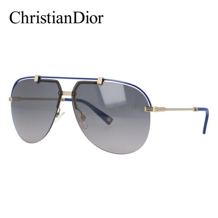 クリスチャン・ディオール Christian Dior サングラス DIOR CROISETTE4 DYE/EU 62 ゴールド/ブルー(ノーズパッド調節可能)【メンズ】 レディース UVカット