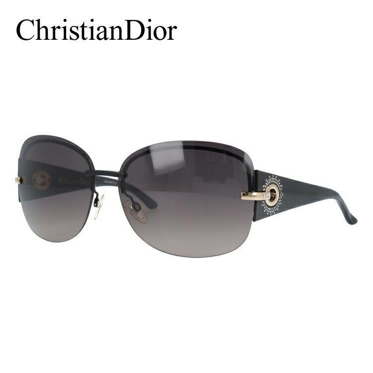 クリスチャン・ディオール Christian Dior サングラス DIOR PRECIEUSEF KH8/XQ 64 ブラック(ノーズパッド調節可能) UVカット【レディース】