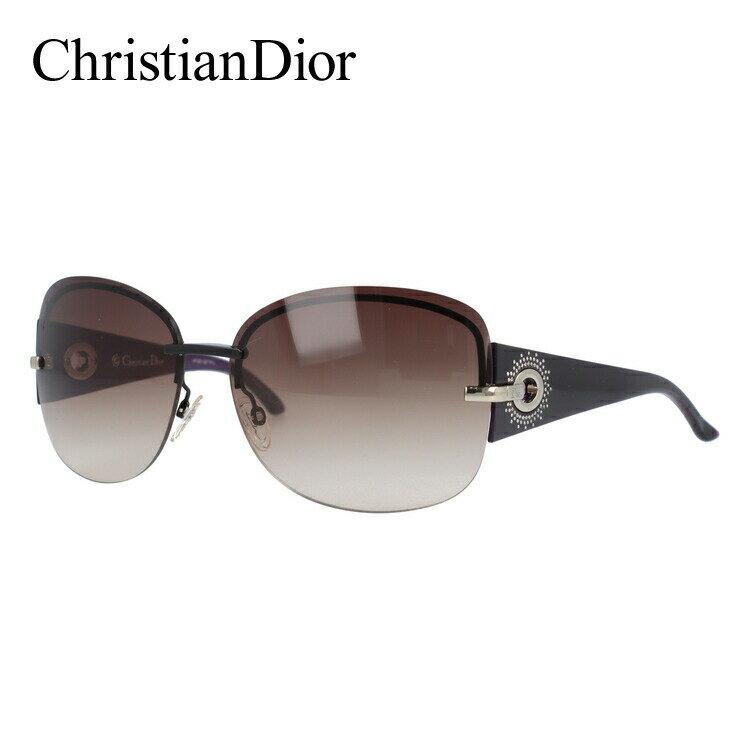 クリスチャン・ディオール Christian Dior サングラス DIOR PRECIEUSEF KGH/QX 64 ブラック/パープル(ノーズパッド調節可能) UVカット【レディース】