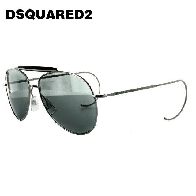 ディースクエアード サングラス DSQUARED2 DQ0144S 16C シルバー/グレー ティアドロップ【レディース】【メンズ】 【スクエア型】 UVカット