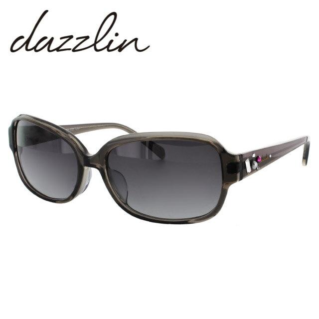 ダズリン サングラス dazzlin DZS3528 57サイズ アジアンフィット UVカット【レディース】