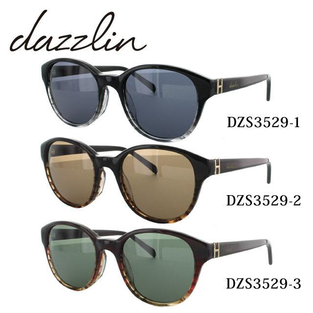 ダズリン サングラス dazzlin DZS3529 全3カラー 51サイズ アジアンフィット UVカット【レディース】