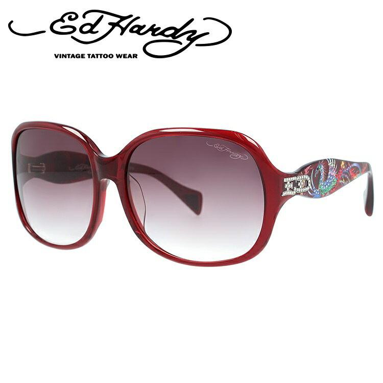 エドハーディー サングラス EDHARDY フェニックス PHOENIX RED【レディース】UVカット
