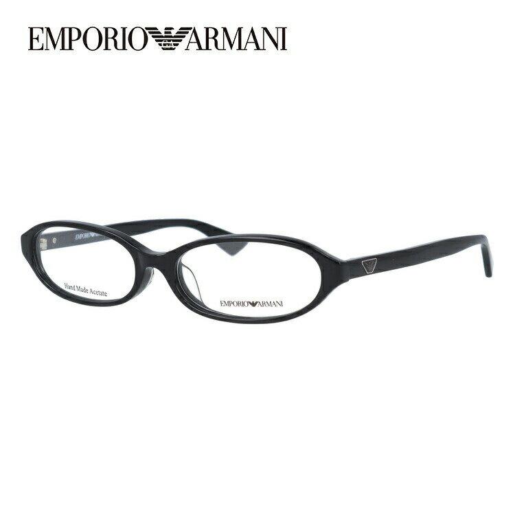 EMPORIO ARMANI エンポリオ アルマーニ 伊達メガネ 眼鏡 EA1331J 807 53サイズ セル/オーバル/メンズ/ユニセックス/レディース