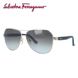 サルヴァトーレ フェラガモ サングラス Salvatore Ferragamo SF138SA-717 59 シャイニーゴールド/トータス アジアンフィット べっこう ティアドロップ メンズ レディース UVカット 紫外線