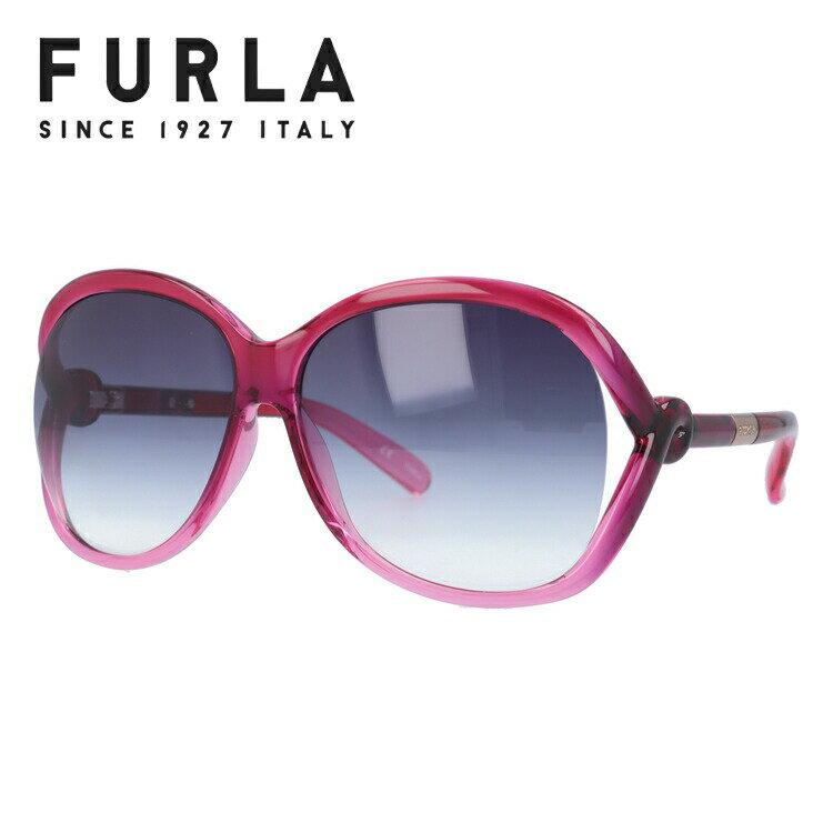 フルラ サングラス 国内正規品 FURLA SU4729 0AD9 ピンク/スモークグラデーション【レディース】 UVカット