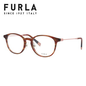 フルラ ライトカラー サングラス メガネフレーム 伊達メガネ FURLA VFU275J 06XE 48サイズ ウェリントン型 レディース 女性用 UVカット 紫外線対策 UV対策 おしゃれ ギフト