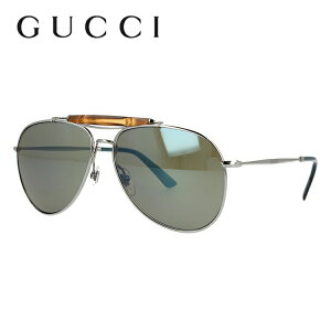 グッチ サングラス GUCCI GG2235S 6LB/3U 59サイズ レギュラーフィット ティアドロップ型 バンブー ブランド レディース メンズ メガネ アイウェア UVカット 紫外線カット UV対策 おしゃれ ギフト プ