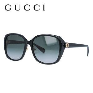 グッチ サングラス GUCCI GG0371SK 001 57サイズ アジアンフィット バタフライ型 ビー 蜂 インターロッキング GG ブランド レディース メンズ メガネ アイウェア UVカット 紫外線カット UV対策 おし
