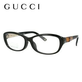 メガネ 度付き 度なし 伊達メガネ 眼鏡 グッチ GUCCI GG8002F 4UA 53 ブラック アジアンフィット メンズ レディース UVカット 紫外線