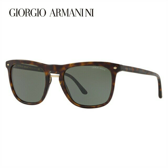 ジョルジオアルマーニ サングラス 2018年新作 アジアンフィット GIORGIO ARMANI AR8107F 508931 53サイズ 国内正規品 ウェリントン ユニセックス メンズ レディース