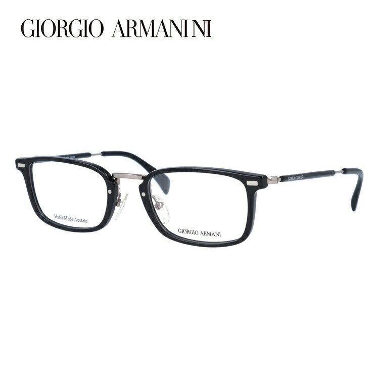 GIORGIO ARMANI ジョルジオ アルマーニ 伊達メガネ 眼鏡 GA2054J 284 50サイズ セル/スクエア/メンズ 【スクエア型】