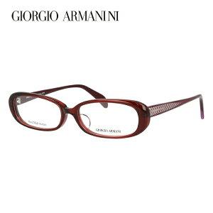 ジョルジオアルマーニ メガネ フレーム 眼鏡 度付き 度なし 伊達メガネ だて ダテ メンズ レディース アジアンフィット GIORGIO ARMANI GA2046J 38A 52サイズ オーバル型 ブランド ロゴ UVカット 紫外