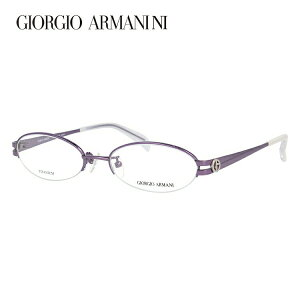 ジョルジオアルマーニ メガネ フレーム 眼鏡 度付き 度なし 伊達メガネ だて ダテ メンズ レディース GIORGIO ARMANI GA2673J 9R7 51サイズ オーバル型 ブランド ロゴ アイコン UVカット 紫外線 UV対策