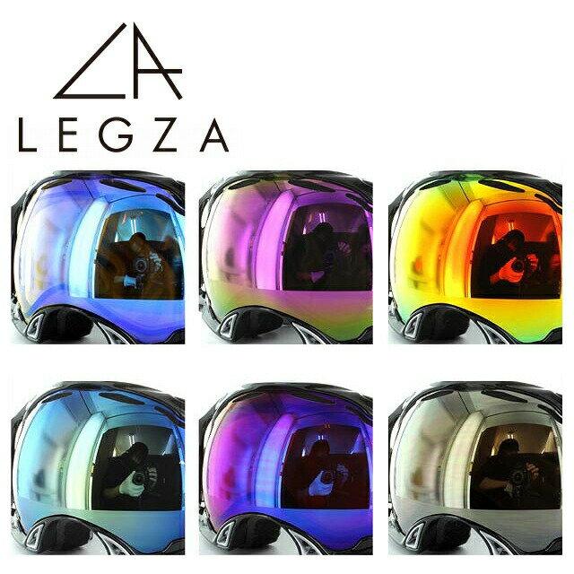オークリー ゴーグル用 OAKLEY SPLICE 専用 交換レンズ S2 スプライス LEGZA製 イエローブルーミラー ブロンズピンクミラー イエローレッドミラー ブルーミラー オレンジブルーミラー ブロンズミラー ダブルレンズ 曇り止め アジアンフィット 全天候対応